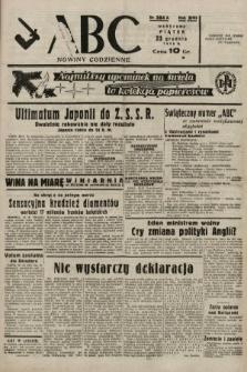 ABC : nowiny codzienne. 1938, nr384 A