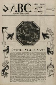 ABC : nowiny codzienne. 1938, nr385 A