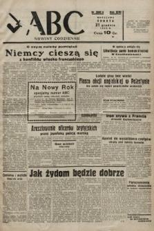 ABC : nowiny codzienne. 1938, nr390 A