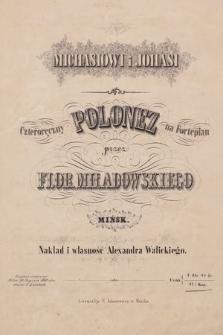 Czteroręczny polonez na fortepian