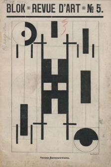 Blok : revue d'art. R. 1, 1924, nr5