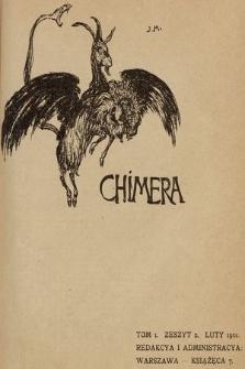 Chimera. T. 1, 1901, z. 2