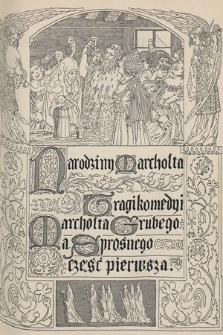 Chimera. T. 10, 1907, Narodziny Marchołta [...]