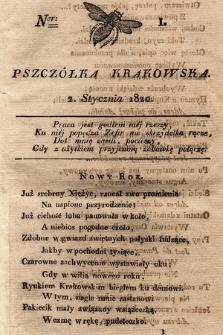 Pszczółka Krakowska. 1820, T.1, nr1