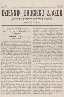 Dziennik Drugiego Zjazdu Lekarzy i Przyrodników Polskich. 1875, nr 3