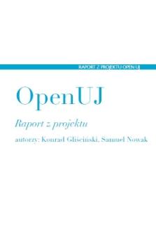 OpenUJ. Raport z projektu