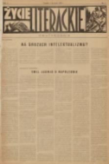 Życie Literackie. R. 1, 1928, nr 2