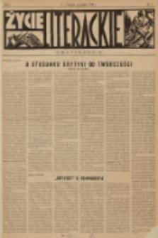 Życie Literackie. R. 1, 1928, nr 7