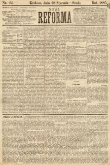 Nowa Reforma. 1885, nr22