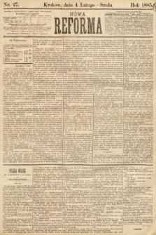 Nowa Reforma. 1885, nr27