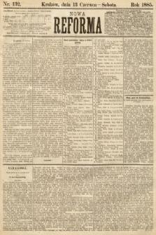 Nowa Reforma. 1885, nr132