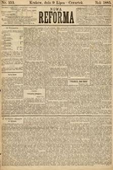 Nowa Reforma. 1885, nr153