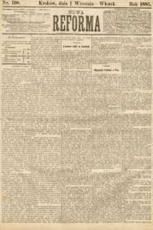 Nowa Reforma. 1885, nr198