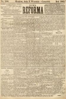 Nowa Reforma. 1885, nr200