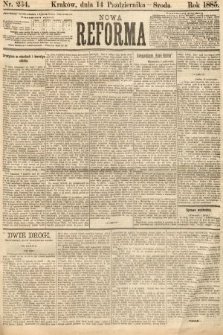 Nowa Reforma. 1885, nr234