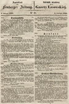 Gazeta Lwowska. 1855, nr31