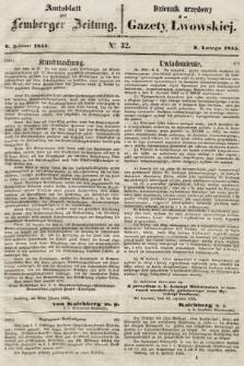 Gazeta Lwowska. 1855, nr32