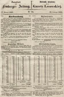 Gazeta Lwowska. 1855, nr35