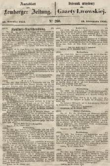 Gazeta Lwowska. 1855, nr260