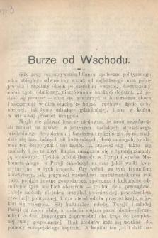 Wiedza : tygodnik społeczno-polityczny, popularno-naukowy i literacki. R. 4, 1910, nr3
