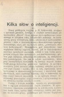 Wiedza : tygodnik społeczno-polityczny, popularno-naukowy i literacki. R. 4, 1910, nr6