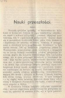 Wiedza : tygodnik społeczno-polityczny, popularno-naukowy i literacki. R. 4, 1910, nr15