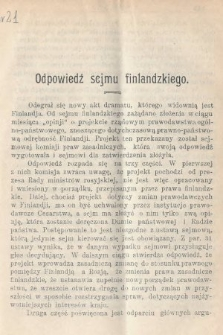 Wiedza : tygodnik społeczno-polityczny, popularno-naukowy i literacki. R. 4, 1910, nr21
