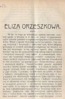 Wiedza : tygodnik społeczno-polityczny, popularno-naukowy i literacki. R. 4, 1910, nr23