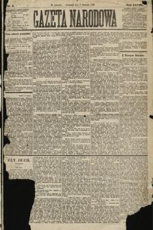 Gazeta Narodowa. 1889, nr2