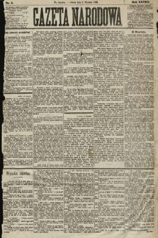 Gazeta Narodowa. 1889, nr4