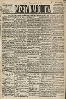 Gazeta Narodowa. 1889, nr5