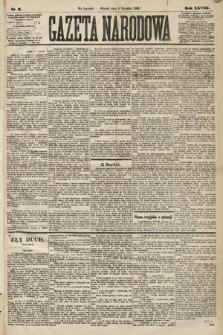 Gazeta Narodowa. 1889, nr6