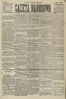Gazeta Narodowa. 1889, nr7
