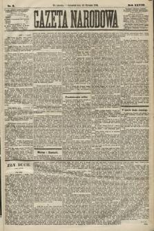 Gazeta Narodowa. 1889, nr8