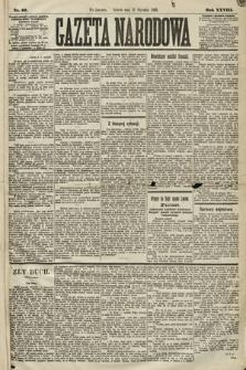 Gazeta Narodowa. 1889, nr10