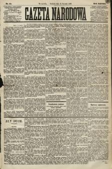 Gazeta Narodowa. 1889, nr11
