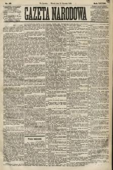 Gazeta Narodowa. 1889, nr12