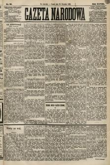 Gazeta Narodowa. 1889, nr21