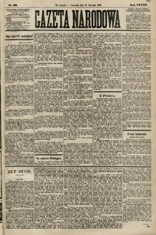 Gazeta Narodowa. 1889, nr26