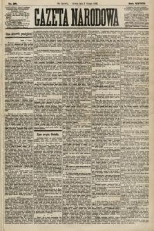 Gazeta Narodowa. 1889, nr28