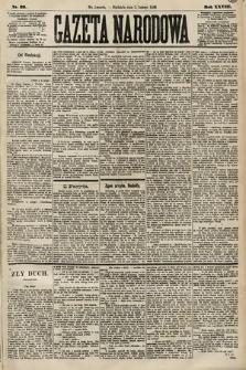 Gazeta Narodowa. 1889, nr29