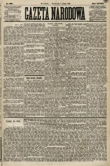 Gazeta Narodowa. 1889, nr29a