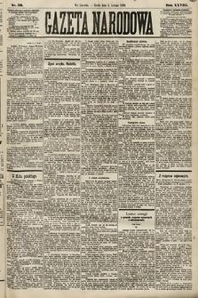 Gazeta Narodowa. 1889, nr30