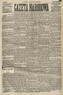 Gazeta Narodowa. 1889, nr31