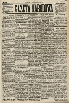 Gazeta Narodowa. 1889, nr32