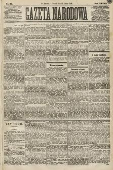 Gazeta Narodowa. 1889, nr35