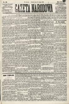 Gazeta Narodowa. 1889, nr46