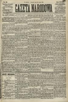 Gazeta Narodowa. 1889, nr49