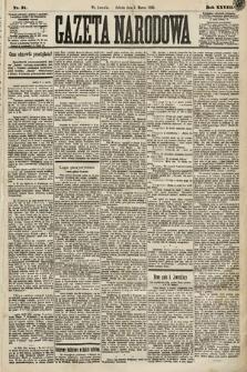 Gazeta Narodowa. 1889, nr51