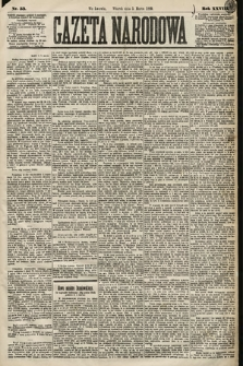 Gazeta Narodowa. 1889, nr53